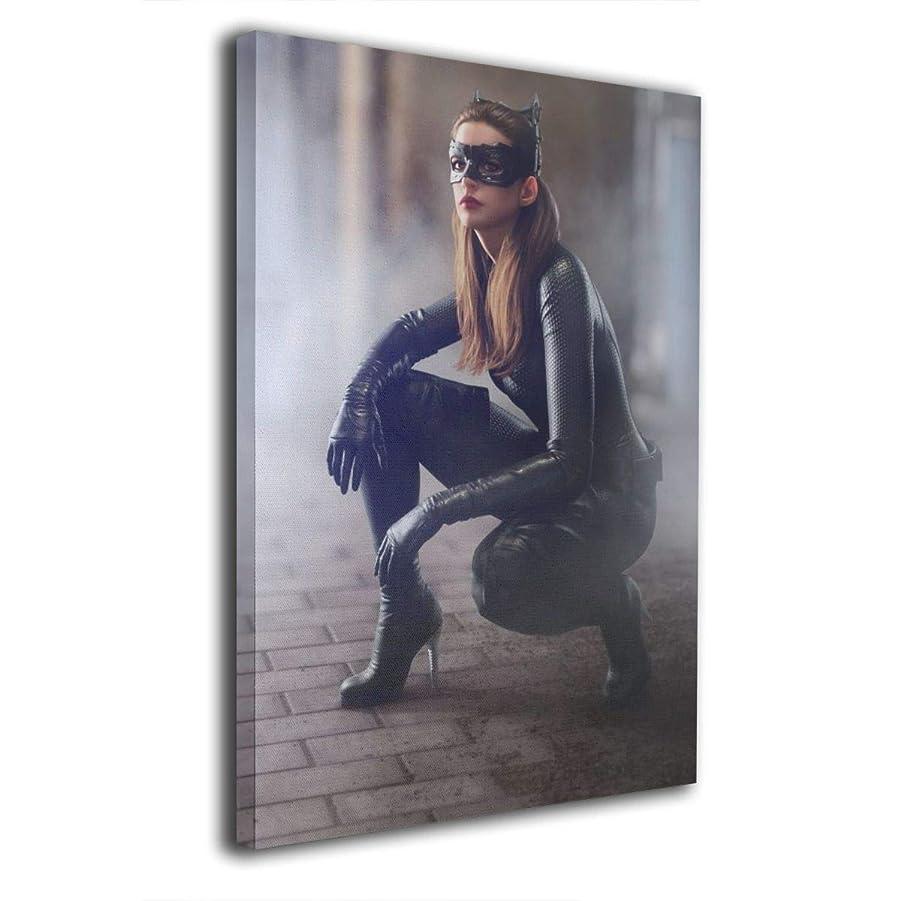以来発揮する密輸アン?ハザウェイ Anne Hathaway 壁掛け アートパネル 名画 絵画 インテリア 和風 ポスター 玄関飾り ポスター フレーム アートポスター キャンバス絵画 壁アート 木枠付きの完成品 20x30cm