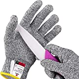 NoCry Cut Resistant Gloves for Kids, XS (8-12 Years) - High...