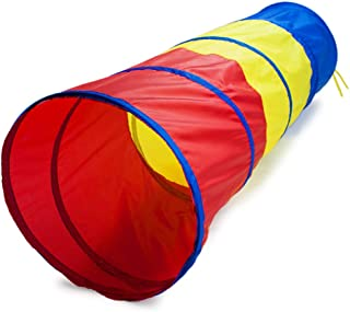 K-Roo Sports 6 Foot Multi-Color Children's Exploration Pop-Up Tunnel