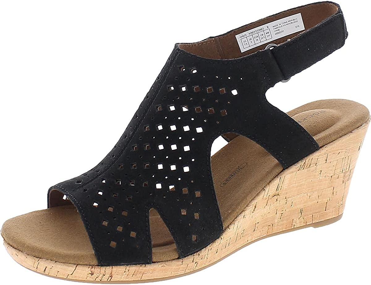 Rockport Women's shipfree Sale Special Price Briah Hood Sling Sandals Heeled