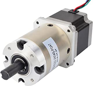 STEPPERONLINE 47:1 Planetary Gearbox Nema 23 Stepper Motor 2.8A for DIY CNC Mill Lathe Router