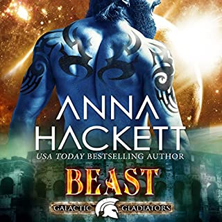 Beast     Galactic Gladiators, Book 7              By:                                                                                                                                 Anna Hackett                               Narrated by:                                                                                                                                 Vivienne Leheny                      Length: 5 hrs and 28 mins     82 ratings     Overall 4.8