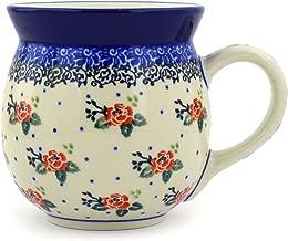 Polish Pottery Bubble Mug 16 oz Pasadena Delight