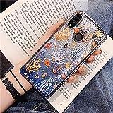 DEIOKL Coque de téléphone Liquide pour Huawei 8C 8S 8X 9C 9S 9X Lite Play 3 4T V10 V20 V30 Pro X10...