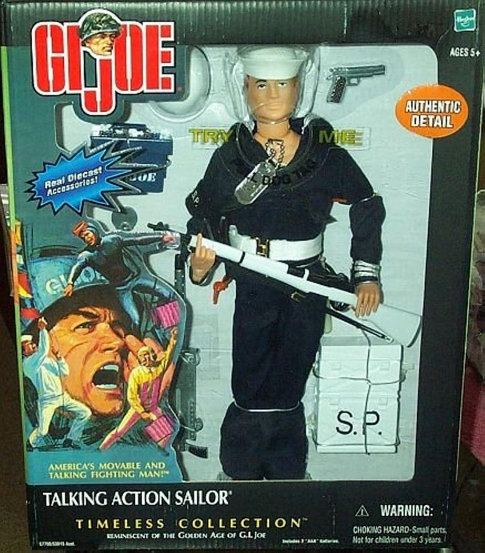 Hasbro 12  GI Joe Talking Action Sailor Shore Patrol Action Figure Timeless Collection (2002 )