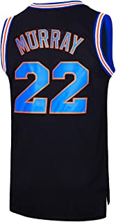 JOLISPORT Bill Murray #22 Space Movie Jersey Mens Basketball Jersey S-XXXL