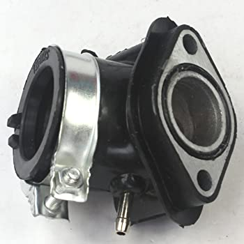 Mingdun Intake Manifold For GY6 50cc Spacer QMB139 MOPED SCOOTER SUNL GY6 50CC 60CC 80CC