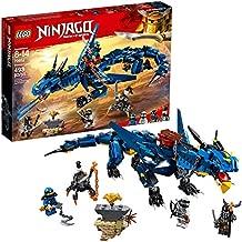 LEGO NINJAGO Masters of Spinjitzu: Stormbringer 70652 Ninja Toy Building Kit with Blue Dragon Model for Kids, Best Playset Gift for Boys (493 Pieces)