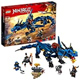 LEGO NINJAGO Masters of Spinjitzu: Stormbringer 70652 Ninja Toy Building Kit with Blue Dragon Model for Kids, Best Playset Gift for Boys (493 Pieces) (Discontinued by Manufacturer)