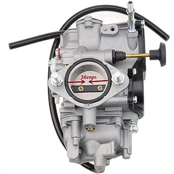 Carrfan Carburateur Carb pour Yamaha Raptor 350 YFM350 2004-2012