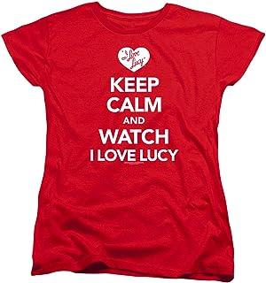 I Love Lucy Keep Calm Women's T Shirt