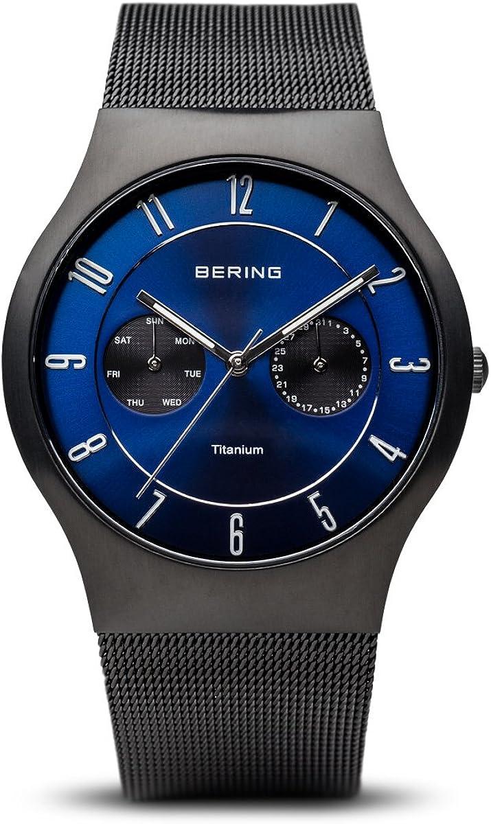 BERING Time Men's Slim Watch Ranking TOP16 Titanium 39MM Inexpensive 11939-078 Case
