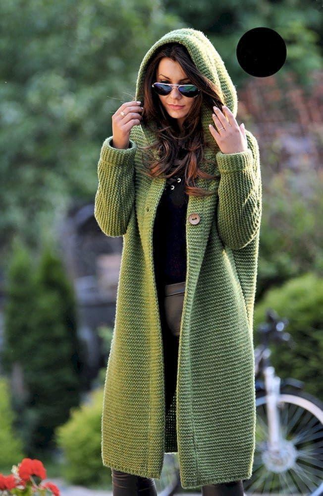 Lsecret Damen Strickjacke Mantel Wolle Mohair Neu 36 38 40 Rosa