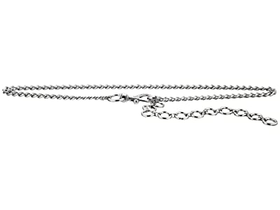Rebecca Minkoff Chain Belt with Pave (Polished Nickel) Women