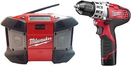 Milwaukee 2492-22 M12 Combo Kit 3/8-Inch Drill Driver & Radio