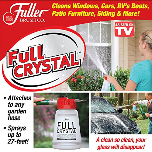 AS SEEN ON TV!! Full Crystal Window and All Purpose Cleaner sparkle BEST way to take care of your outdoor cleaning...