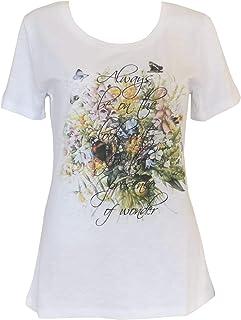 Alex(e) - Camiseta de mujer de algodón orgánico 100% de ropa de ...