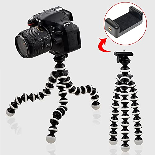 wholesale WGear Featured Felxible online Mount Tripod for Camera,Live Even Camera, 360 Spherical Camera, Action Camera sale Gopro, Yi and Pico,Black and White outlet sale