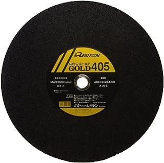 レヂトン 切断砥石 ゴールド(5枚入) 305X2.5X25.4 A36S/5P