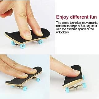 kaikki Wooden Professional Mini Fingerboards Set Finger Skateboard Skate Park Kit Ramp Parts for Finger Skateboard Ultimate Parks Training Props
