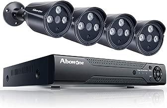 Security Camera System Abowone 8 Channel DVR 4PCS 2.0 Megapixel 1080P HD IP66..