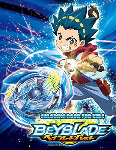 Beyblade Coloring Book For Kids Fun Coloring Pages Featuring Your Favorite Beyblade Characters Buy Online In Indonesia At Desertcart Id Productid 170602777