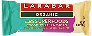 Larabar Organic with Superfood (Coconut, Kale, CCacao) 1.6OZ (Pack of 15)