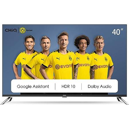 CHiQ L40H7A, 40 Pouces(100cm), Android 9.0, Smart TV, FHD, WiFi, Bluetooth,Google Assistant, Netflix, Prime Video,HDMI, USB