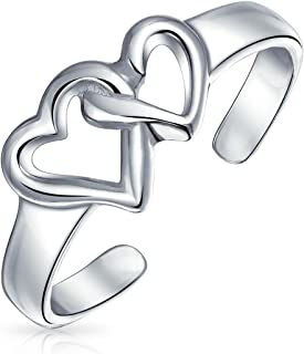 Best heart toe ring Reviews