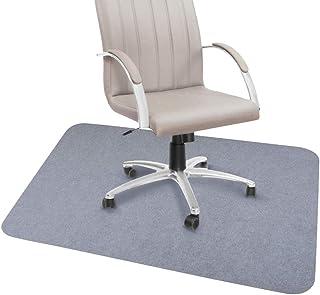 チェアマット ズレない デスク 床保護マット 吸音 傷防止 90×120cm グレー