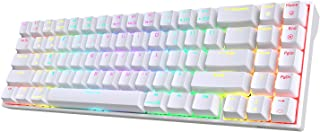 RK ROYAL KLUDGE RK71 70% RGB Wireless Mechanical Gaming Keyboard with Stand-Alone Arrow Keys & Function Keys, Brown Switch...