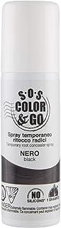 S.O.S Color & Go Spray Temporaneo Ritocco Radici Nero - 75 Millilitri