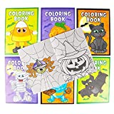 The Dreidel Company Halloween Coloring Books Party Favors for Kids, Hallowmas Trick or Treat Goodie Bag Stuffer Fillers Fun Activity Decorations Supplies (24 Booklets (2 DZ))