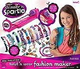Cra-Z-Art Shimmer and Sparkle 3 in 1 Twist 'n Wear Jewelry 'n Fashion Maker