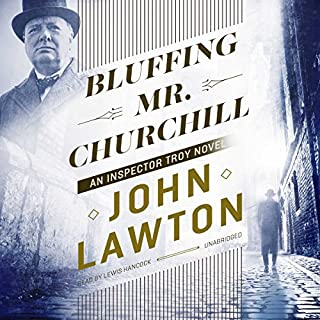 Bluffing Mr. Churchill audiobook cover art