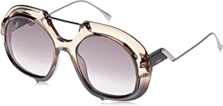 Fendi FPSWP Panto Sunglasses for Women - Purple Lens