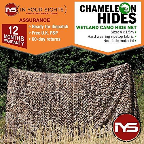 Chameleon Hides Camouflage Chasse Casquette//Ghillie Bonnet//Realtree 3D Chasse Casquette Tir au Pigeon Bonnet