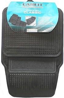Carfit 4550041 Classic Rubber Car Floor Mat 4 Piece Set, Black