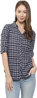 Campus Sutra Women's Regular Fit Shirt
