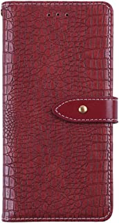 YLYT Shockproof - Red Flip Leather TPU Silicone Luxury Cover Stand Wallet Case For Infinix S5 Pro 6.53 inch Card Slots Pou...