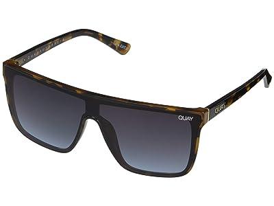 QUAY AUSTRALIA Nightfall (Tort/Navy) Fashion Sunglasses