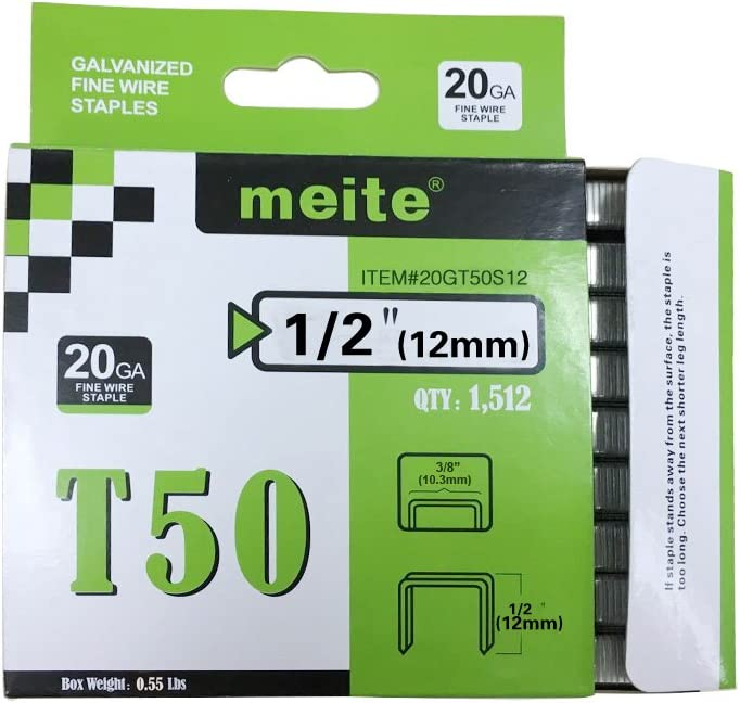 meite 20GT50S12 Arrow Genuine T50 Series Leg Length 2-Inch Recommended 1 Award-winning store Sta