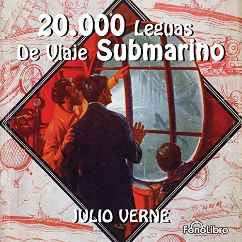20 Mil Leguas Viaje Submarino [20,000 Leagues Under the Sea]                   By:                                                                                                                                 Jules Verne                               Narrated by:                                                                                                                                 FonoLibro Inc.                      Length: 1 hr and 38 mins     12 ratings     Overall 4.4