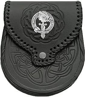 MacLellan Scottish Clan Crest Badge Sporran