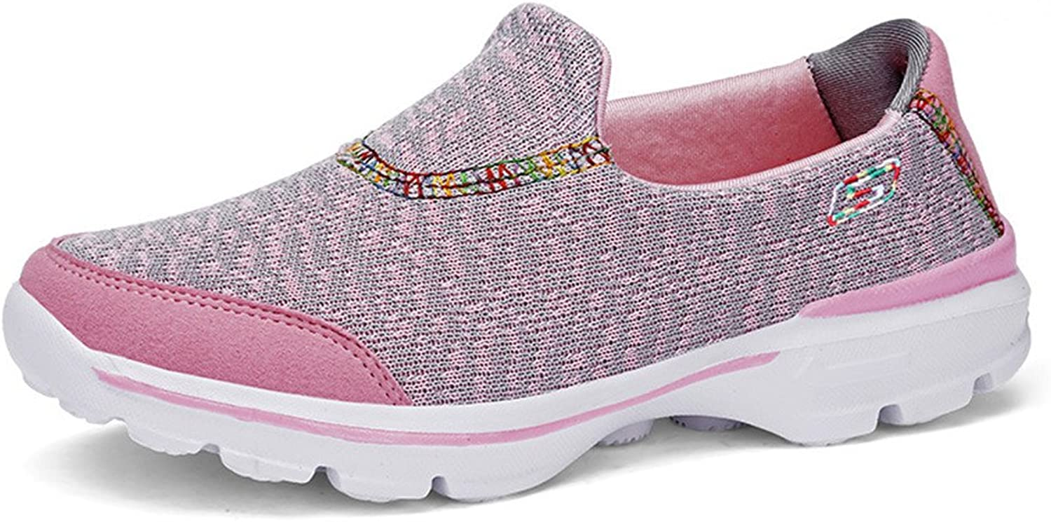 SUNNY Store Womens Platform Sneakers Comfort Air Cushion Slip On Loafers Casual Walking shoes