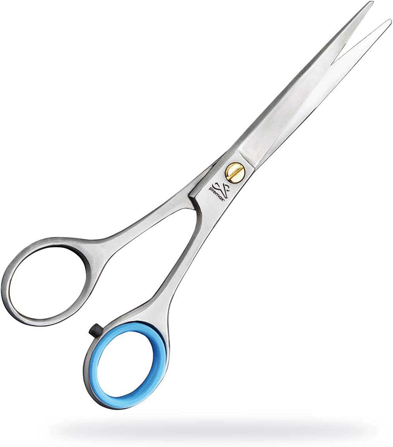 Premax F82210612KS 6.5 inch 1 Serrated Edge Stainless Steel Professional Hair Styling Scissors Suitable for Dog Grooming