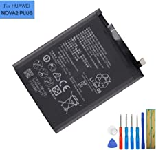 New Replacement Battery HB356687ECW Compatible with Huawei Mate SE Honor 7X Nova 2 Plus Dual SIM 3340mAh with Tools