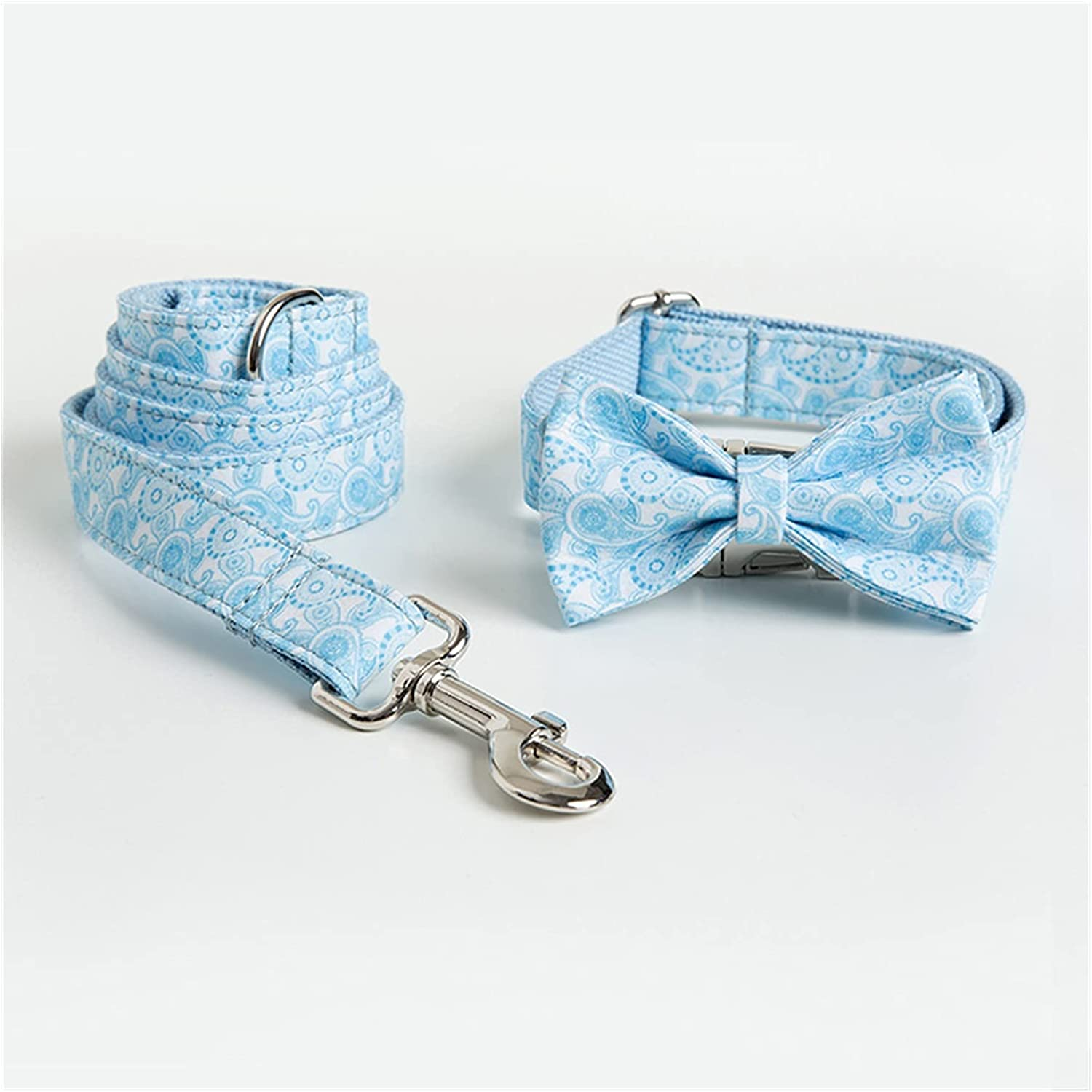 LWLLBH Recommendation Personalized Great interest Woven Pet Collar Dog : Color 22 Set