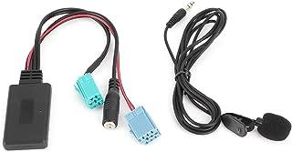 Adaptador auxiliar de carro, adaptador de áudio Bluetooth, base de alto desempenho Dc12V para Renault Clio/Espace/Megane