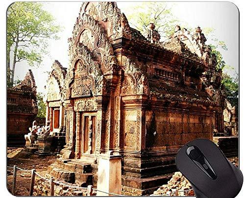 Anti-Rutsch-Mausunterlage, Reap-Zitat-Religion Buddha-Statuen-Büro-Mausunterlage